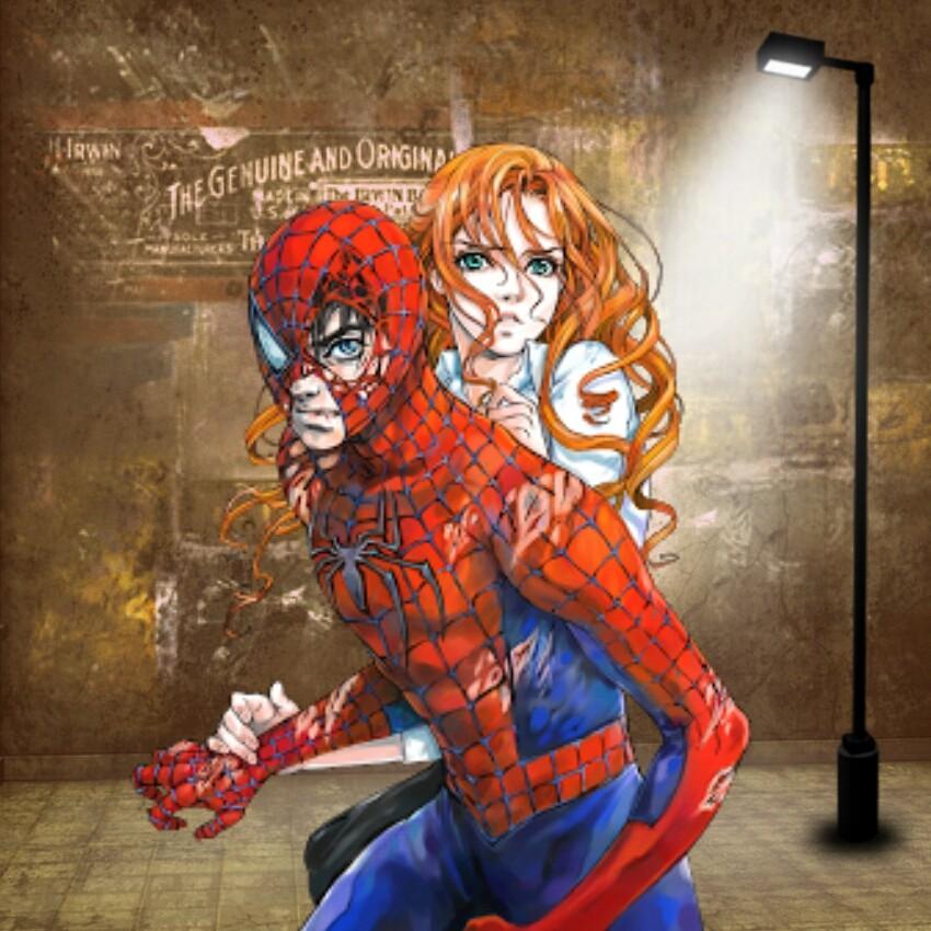 Spiderman mary jane comic marvel