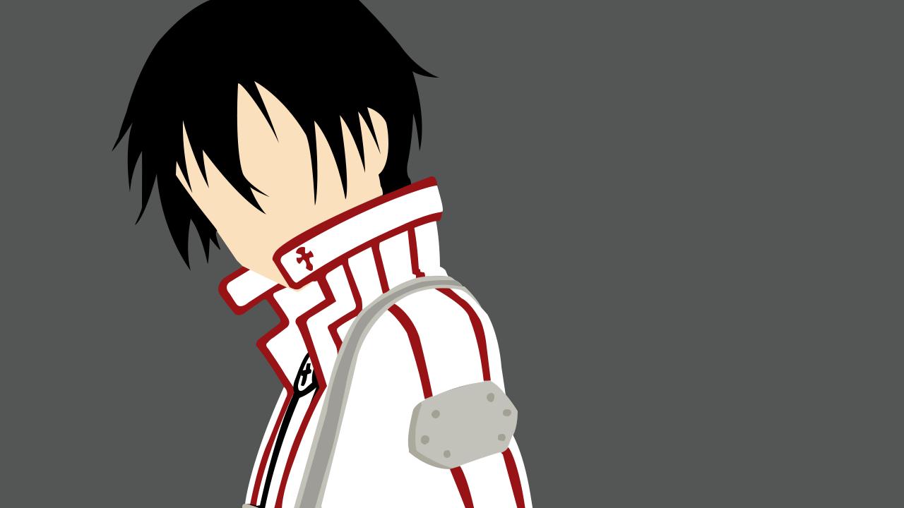Kirito minimalist by henyeh on deviantart for Minimal art online