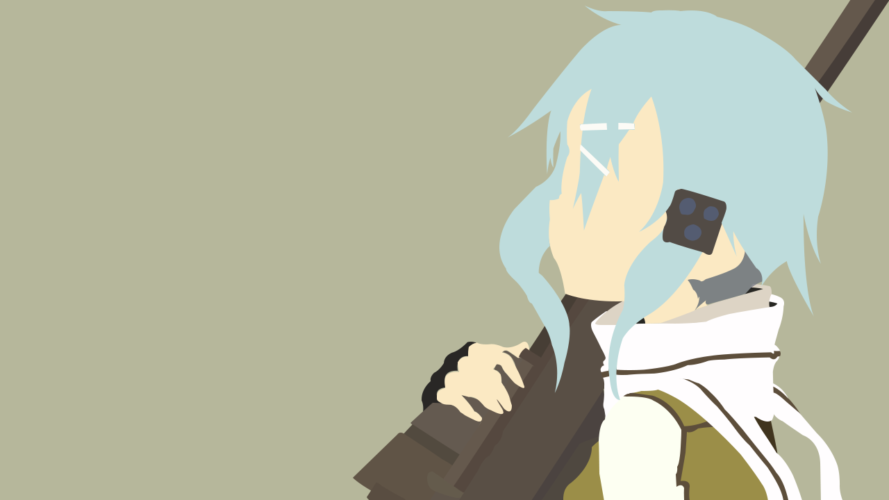 Sinon Minimalist by henyeh on DeviantArt