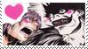 Ryuk X Light love stamp by Luzetteart