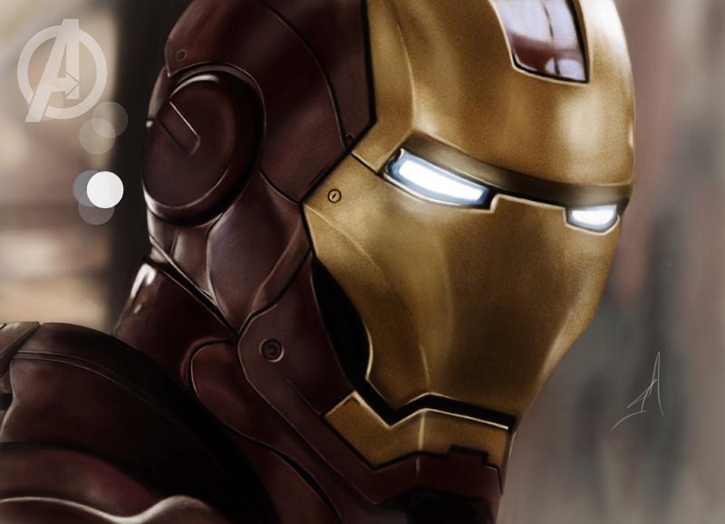 The Avengers: Iron Man by c44zi