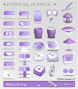 Eternal Purple by oooAdAooo