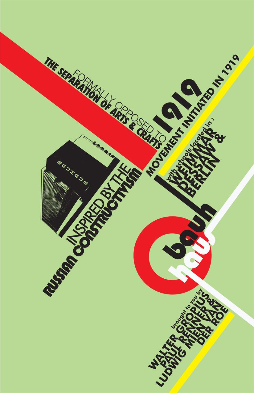 Graphic Designer Artist Famous Bauhaus