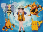 Casey's love of yellow Pokemon with stripes