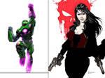 The Robotic Assassin and Crima