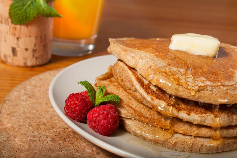 Whole Wheat Pancakes by NourhanB