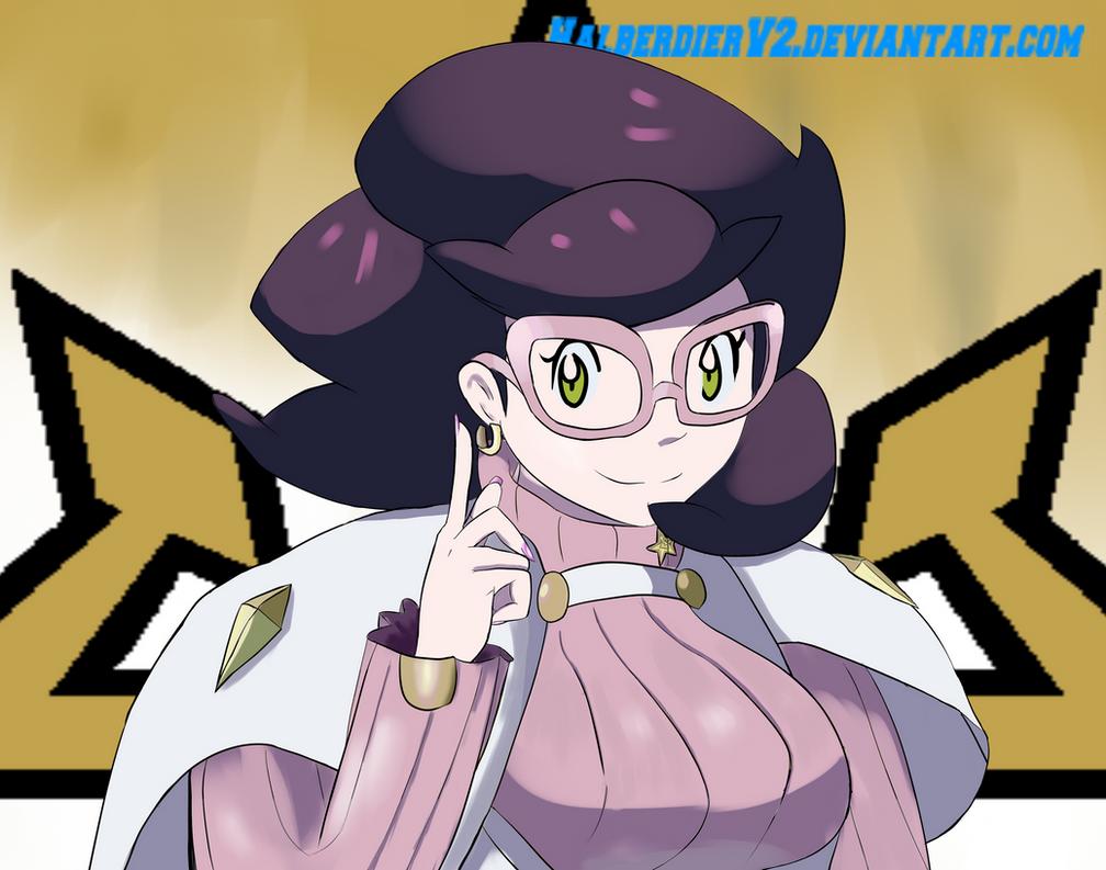 Pokemon Sun/Moon - Wicke by halberdierv2