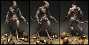 Alien - Character Modeling by Arkhars