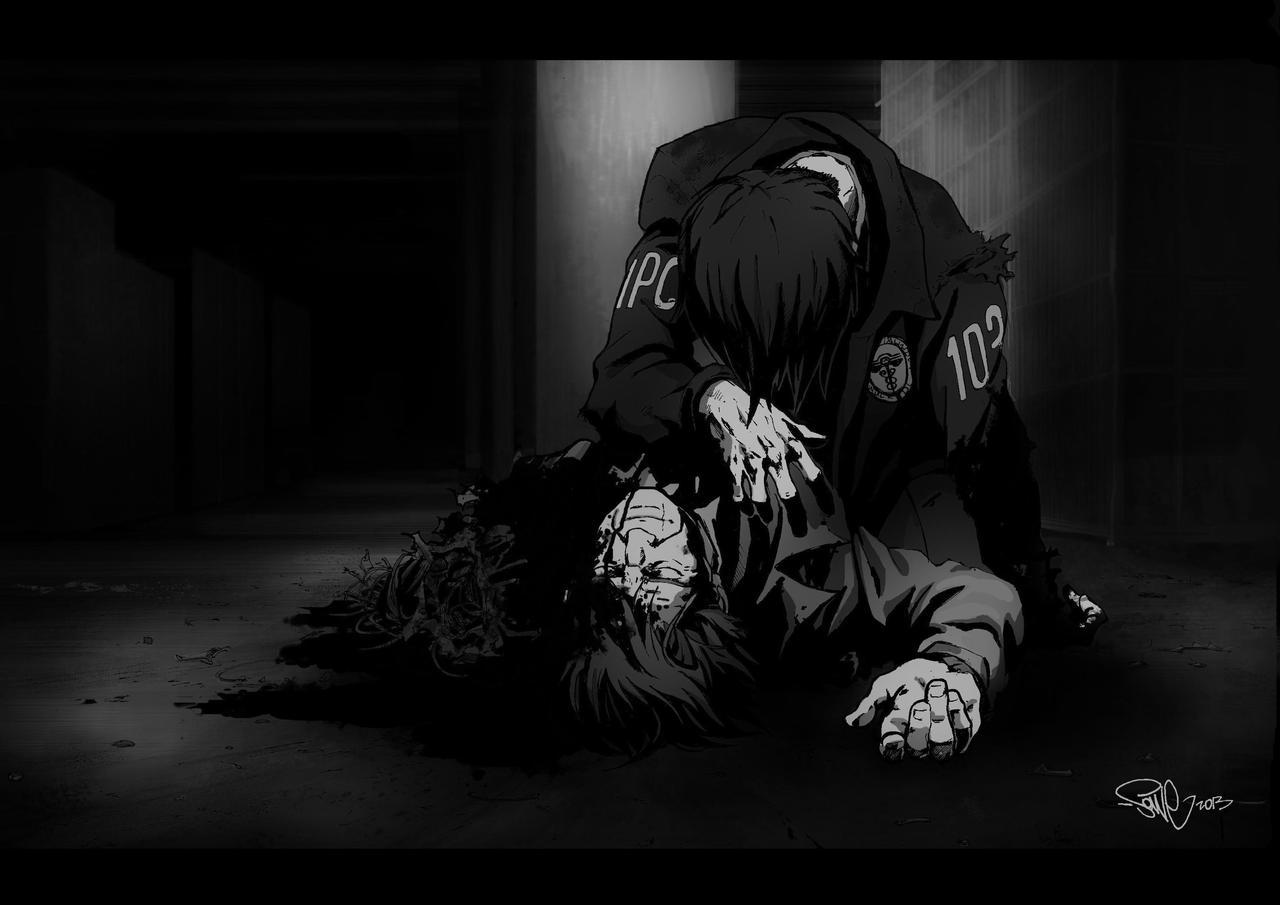Psycho pass: Ginoza, Masaoka by Jane-Sonne