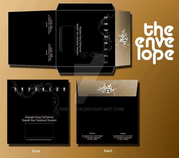 The Envelope by one-click
