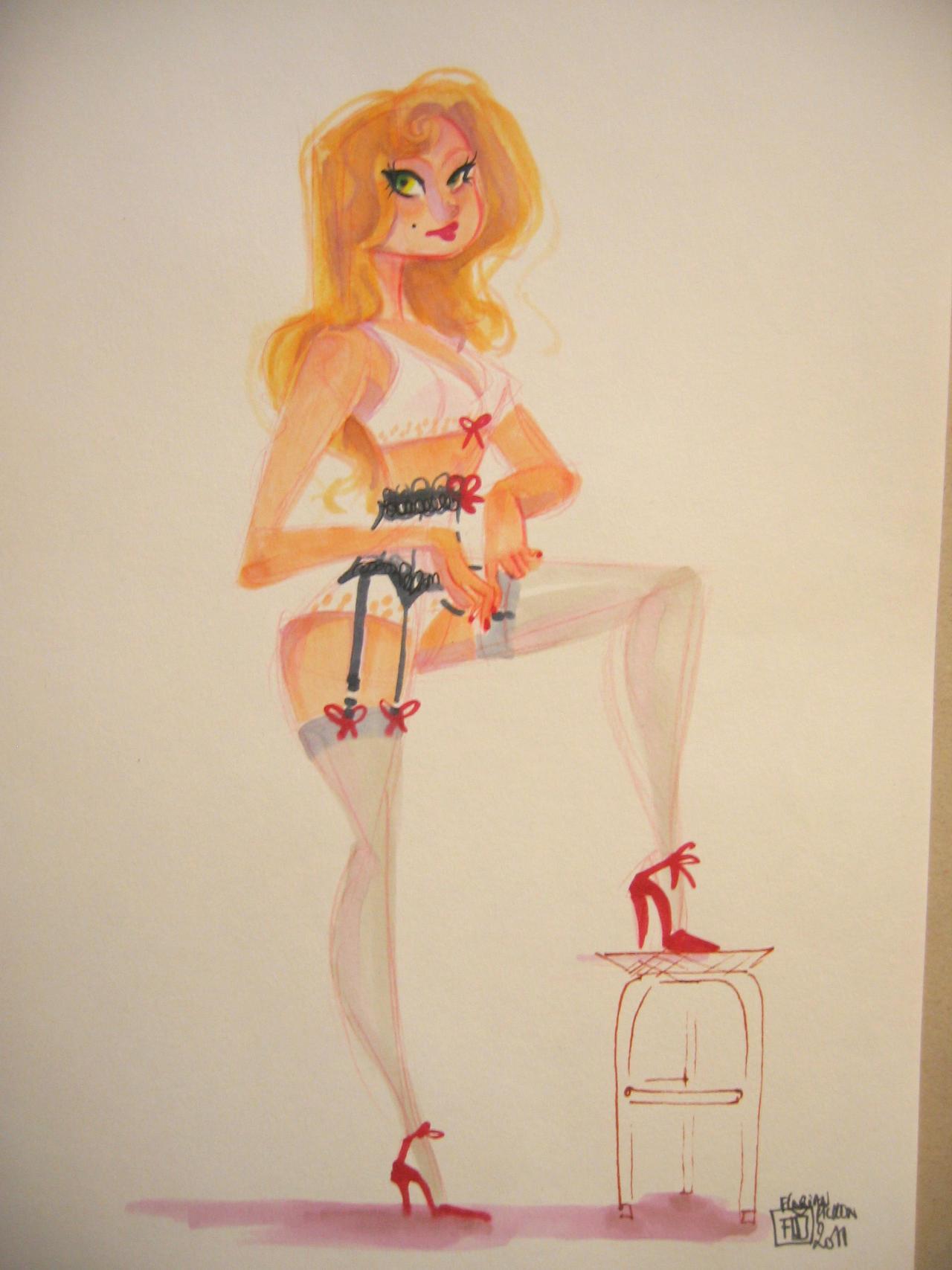 Blondie Lingerie by ArtofFlo