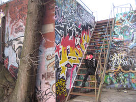Graffiti Goth 05 by willconquers-stock