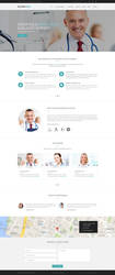 Landing Page Dr. Gary Price by degraphic