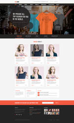 theashop Free PSD Ecommerce 2 by degraphic
