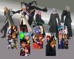 Kingdom Hearts All together