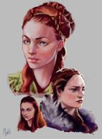 Sansa Stark by Lady-ObsidiAnne