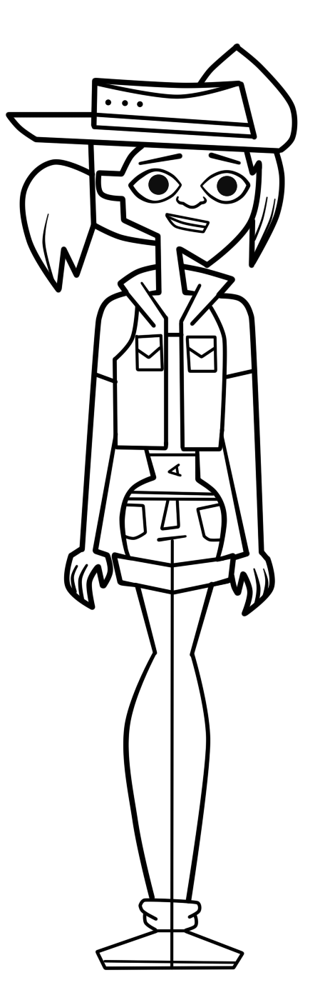 total drama island printable coloring pages - jasmine total drama pahkitew island by galtguy on deviantart