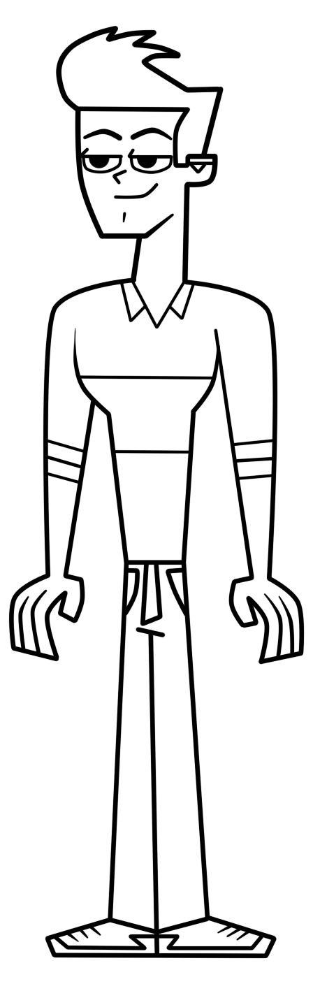 Topher total drama pahkitew island by galtguy on deviantart for Total drama coloring pages