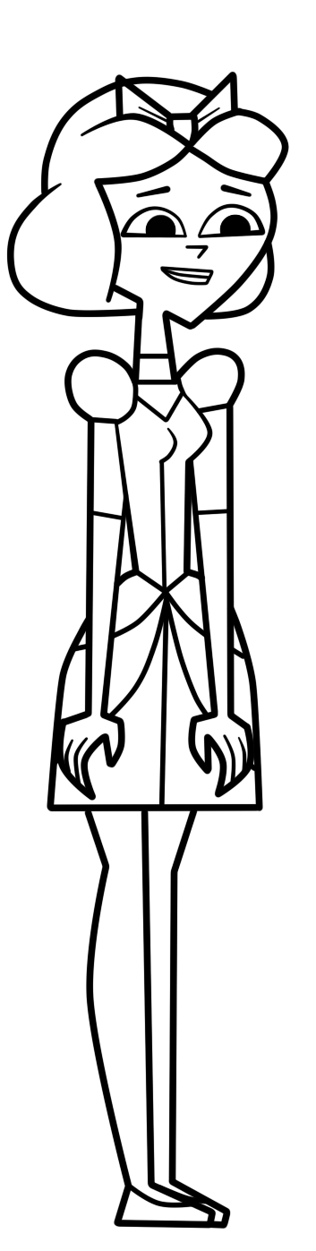 Ella total drama pahkitew island by galtguy on deviantart for Total drama coloring pages