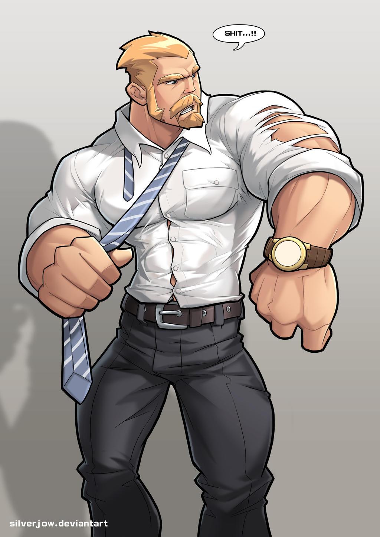 Big Gay Muscles 21