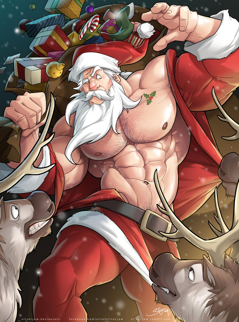 Santa elf sex cartoon pornos scenes