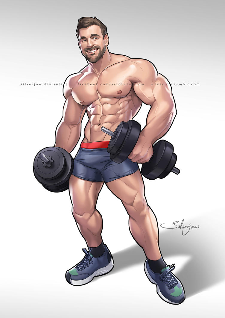 Erotic muscle growth