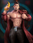 Commission work - Chris Jones as Starlord