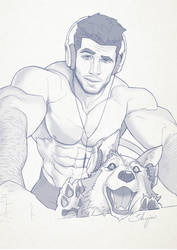 Hunk of the week #05 by silverjow