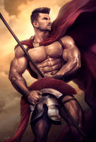 This is SPARTA ! ! by silverjow