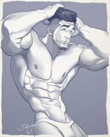 Hunk of the week #17 by silverjow
