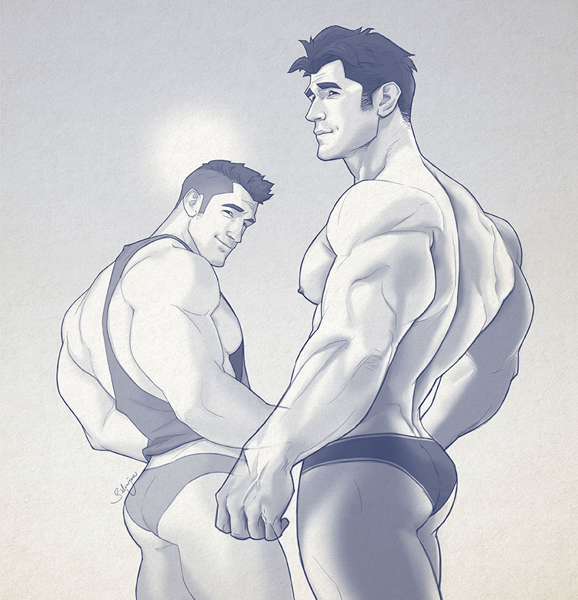 Hunk of the week #34 by silverjow
