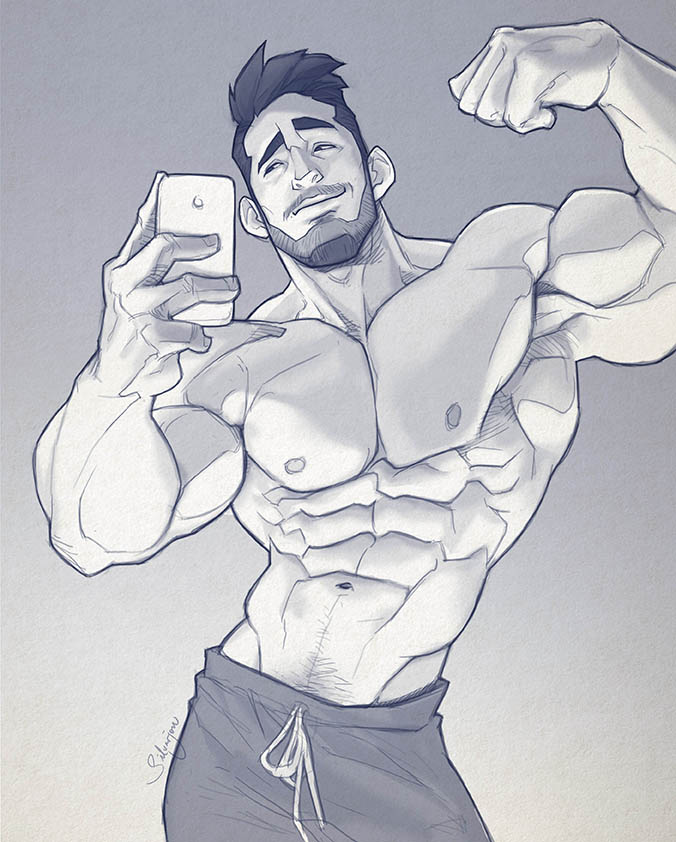 Hunk of the week #35 by silverjow