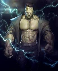 Frankenstein's Monster by silverjow