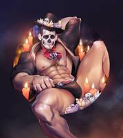Dia de los Muertos by silverjow
