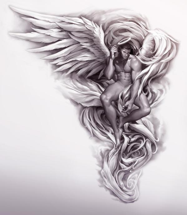 Angel by silverjow