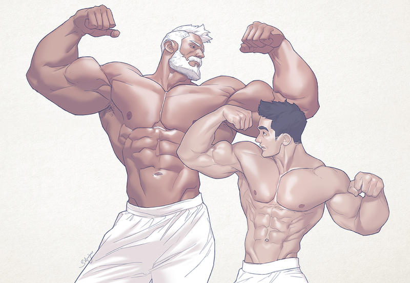 Hunks of the week #68 by silverjow