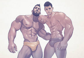 Hunks of the week #69 by silverjow