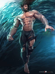 Aquaman by silverjow