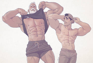 Hunks of the week #94 by silverjow