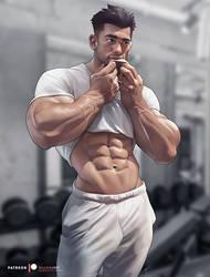 Gym sweat