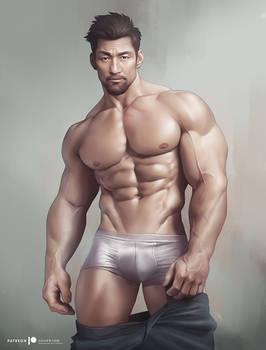 Asian Hunk