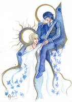 Noctis and Lunafreya by g-ivanov