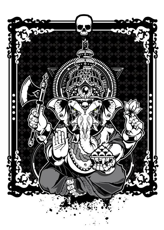 Ganesha  Vector Art by BiancazCurze