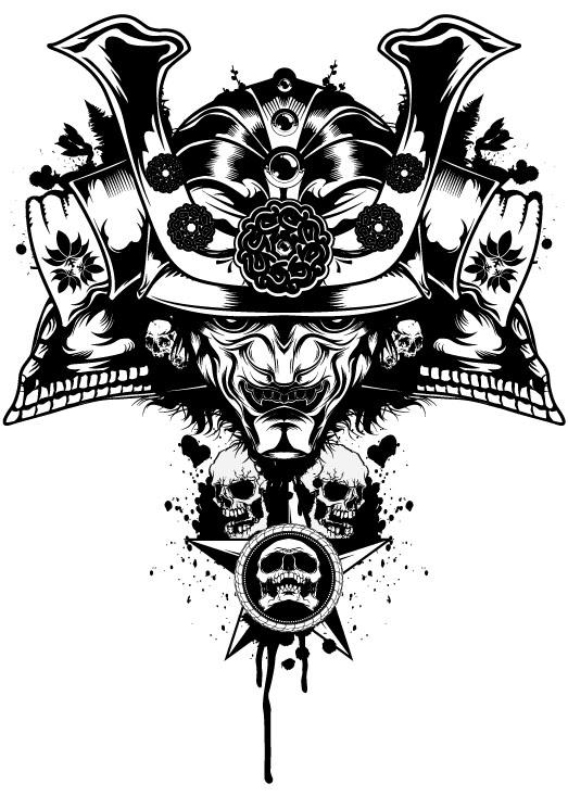Vector Samurai by BiancazCurze