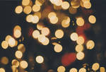 Christmas Tree Bokeh by Feroucious