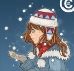 Winter greeting by keh-arts