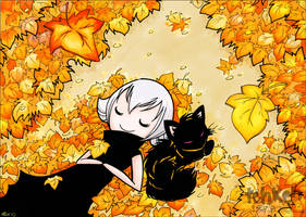 Legion Of Kats - Autumn Leaves by keh-arts