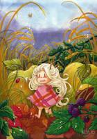 Teasel Autumn Days by keh-arts