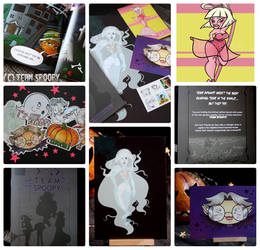 Spoopy Mini Comic and Giveaway! by keh-arts