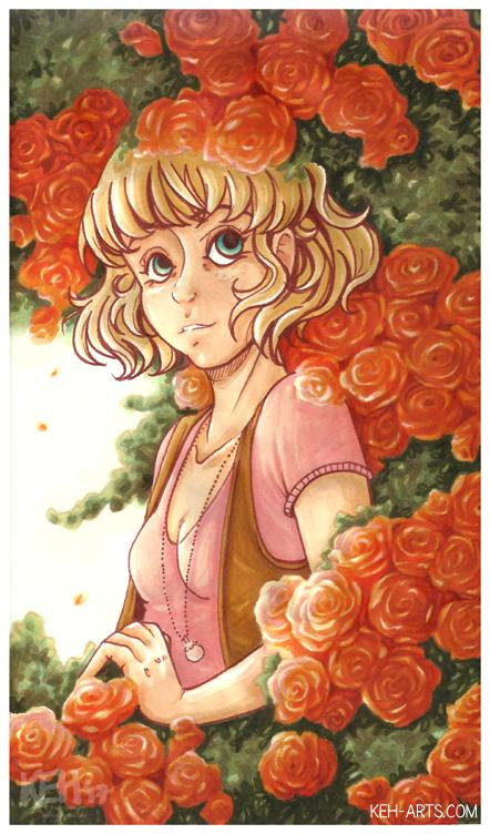 Rose Garden by tea-bug